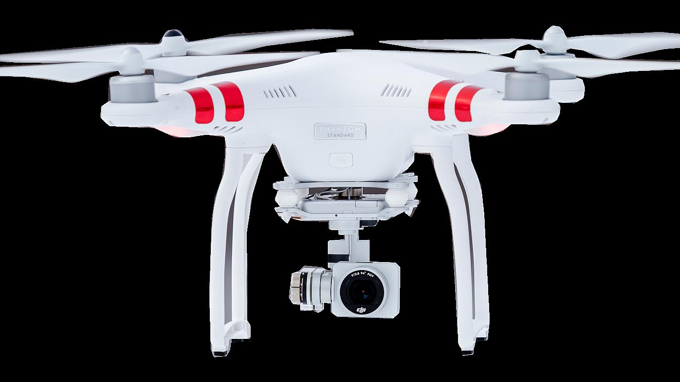 Drone DJI transparant